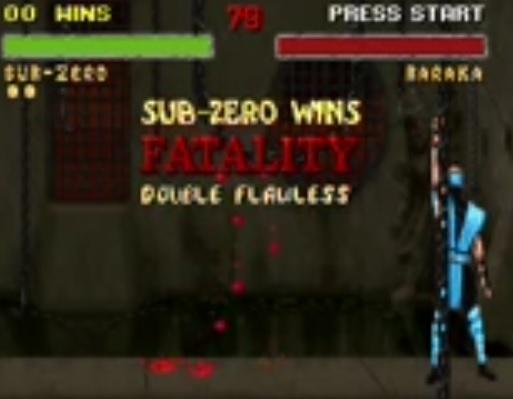 mortal kombat flawless victory
