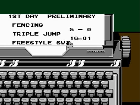 nes typewriter