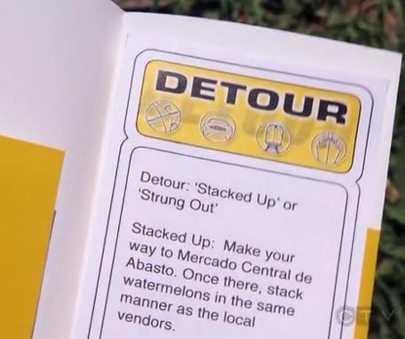 asuncion detour
