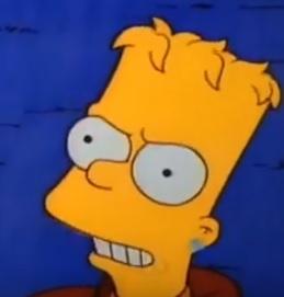bart simpson earring