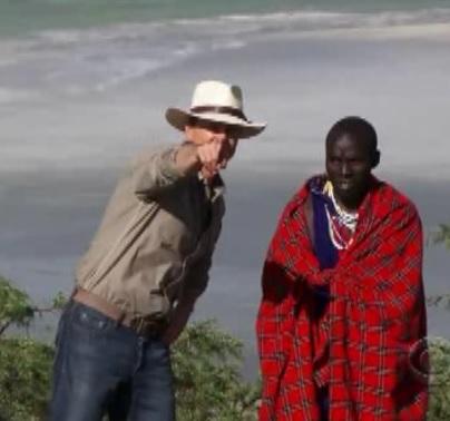 ngorongoro pit stop greeter