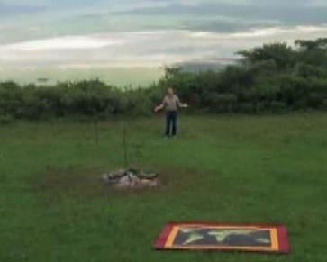 ngorongoro pit stop