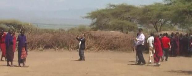 ngorongoro selfie