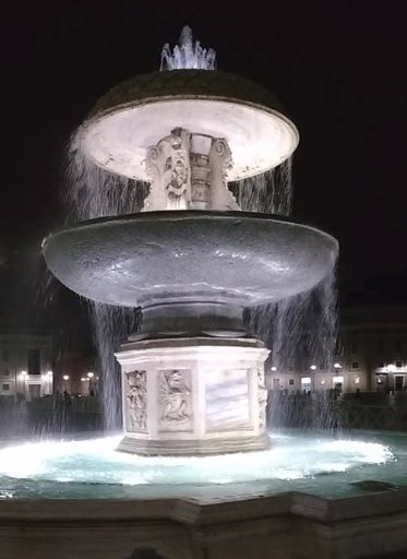 vatican fountain