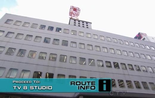 osaka tv 8 studio